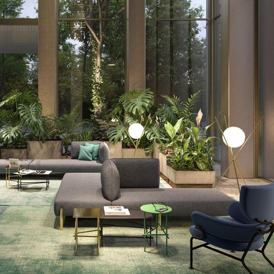 Hotel Lobby Design Inspirations Glamorous Modern Mid Century Decor Hotel Lobby Design Lobby Design Lounge Interiors
