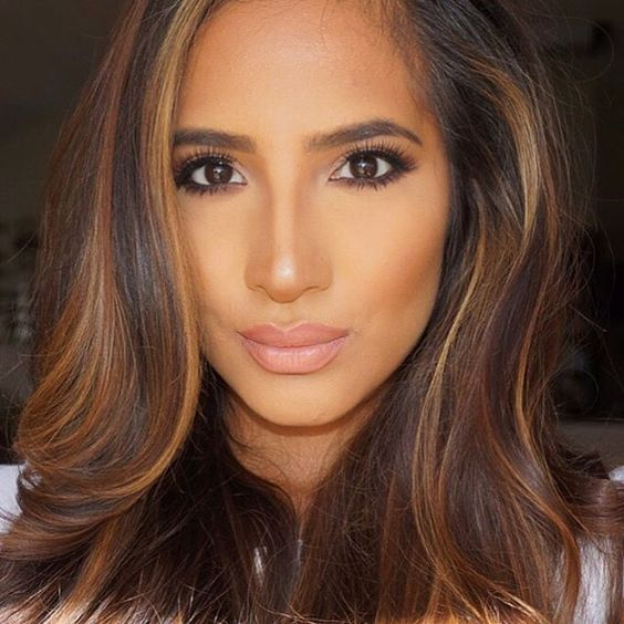 """""""@beautyby_erica starting our day off by serving some gorgeous, not-overdone face """""""