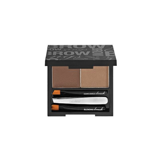 Benefit Cosmetics Brow Zings Shaping Kit ($32) ❤ liked on Polyvore featuring beauty products, makeup, eye makeup, beauty, brow kit, eyebrow wax kit, eye brow kit, blending brush and benefit makeup