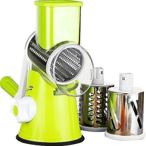 Spiral Vegetable Fruit Slicer Manual Cutter Grater Home Kitchen Gadgets Tools