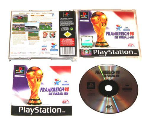 Playstation 1 Frankreich 98 - Die Fußball-WM in OVP für Ps1