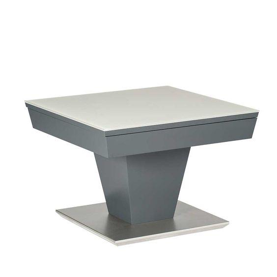 Dieser moderne Wohnzimmertisch in Grau gefertigt aus MDF, mit - moderne wohnzimmertische