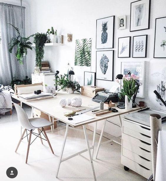 Scandinavian Design Ideas For Every Room In Your Home In 2020 Home Office Decor Home Office Design Interior