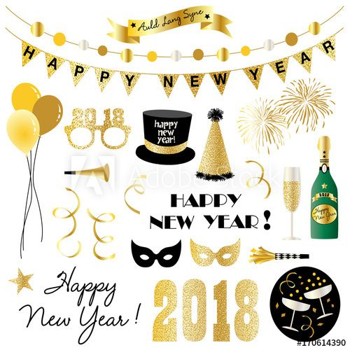 New Years Eve Clipart In 2021 New Year Clipart Happy New Years Eve New Years Eve