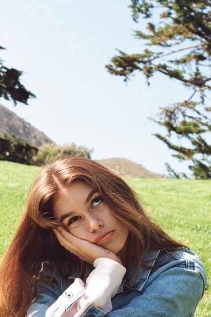 Kendall Jenner fotografa per Kaia Gerber