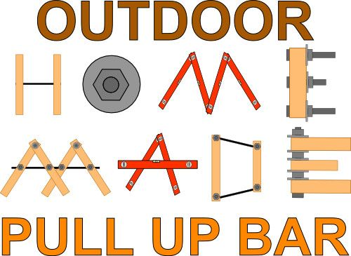 How to Build a Homemade Outdoor Free Standing Pull Up Bar post image
