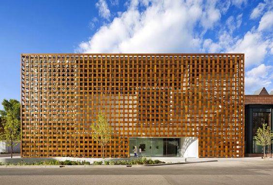 Shigeru Ban habille délicatement le nouveau Aspen Art Museum, au Colorado - Architecture