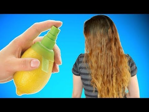 208 How To Bleach Your Hair With Lemon Juice Youtube With
