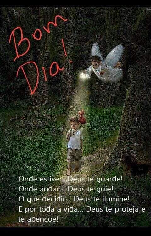 Bom Dia Frase Bom Dia Onde Estiver Deus Te Guarde Onde Andar