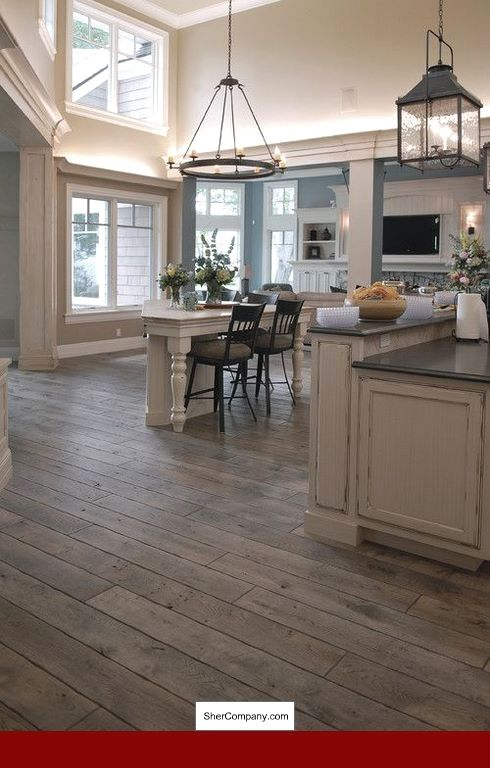 Wood Floor Wall Color Ideas, Grey Laminate Flooring Room ...