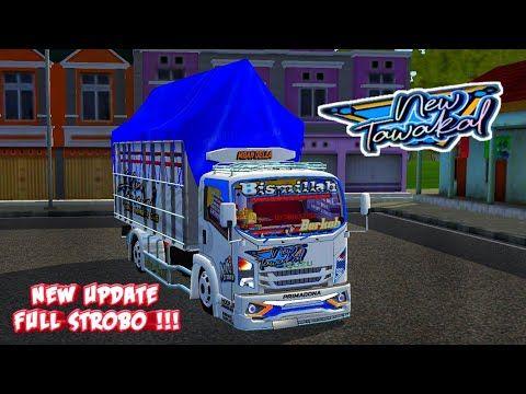 Mod Bussid Truk New Tawakal 5 Full Anim Strobo Mod Bussid Terbaru Bus Simulator Indonesia Youtube Konsep Mobil Truk Besar Modifikasi Mobil