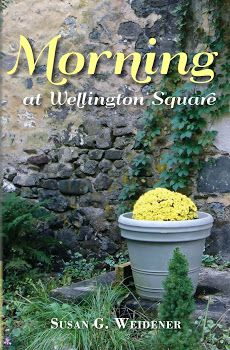 "Morning at Wellington Square . . .  a memoir of a woman searching for meaning. The book has been described as a ""hopeful, uplifting account of looking for and finding a new passion and purpose in life after loss."""