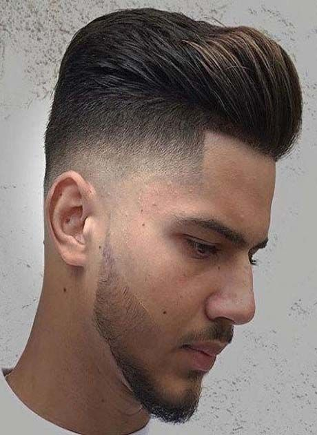 Hottest Mens Hairstyles 2019 Latest Fashion Trends Hottest Hairstyles Ideas Inspiration Pompadour Fade Fade Haircut Pompadour Fade Haircut
