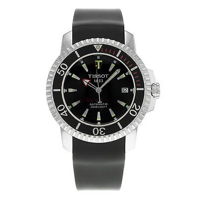 Tissot Seastar T19.1.593.51 Stainless Steel Automatic Men's Diving Watch