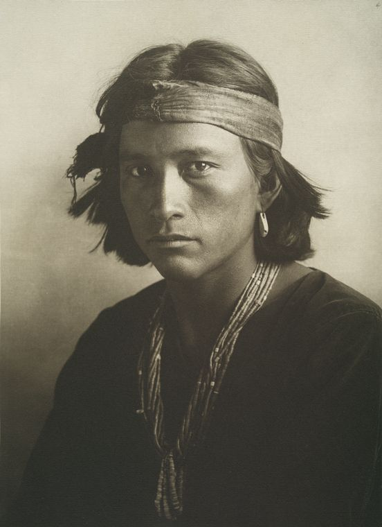 Navajo youthphotographed by Karl Moon, Grand Canyon, Arizona.