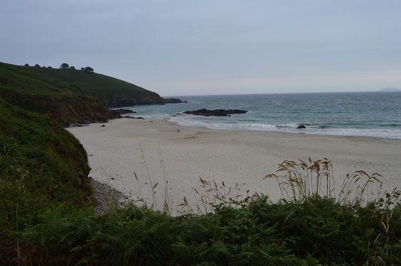 Playa de Bascuas, playa nudista