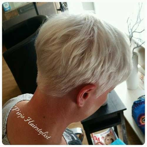 Short Hairstyles For Older Women With Thin Hair The Undercut Edgy Pixie Haircuts Short Hair Styles Thick Hair Styles