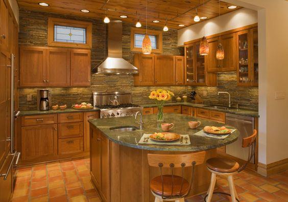 kitchen lighting ideas pictures | ... Kitchen Lighting Decor Rustic Kitchen Ideas: Fascinating Kitchen