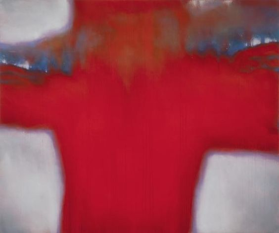 The Red Rules of Tooth and Claw, 2013, oil on canvas, 62 x 74 inches