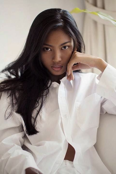 beautiful black indonesian women
