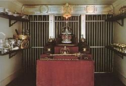 Queen Mary's Doll House - Strong Room (where the crown jewels are kept)