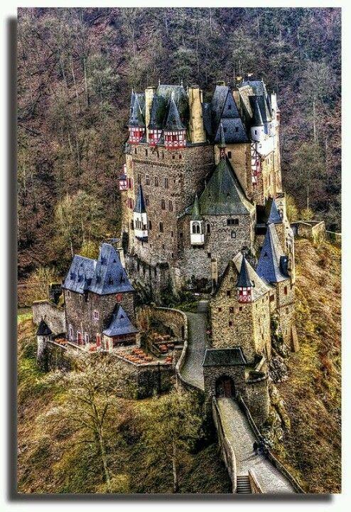 Trier Alemannia Beautiful Castles Burg Eltz Castle Medieval Castle