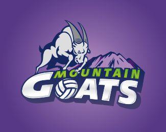 Mountain Goats | Sports logos | Pinterest | Galleries ...