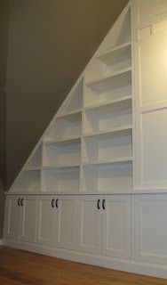 Toronto Custom Concepts Blog: Built-ins For Angled Ceilings and Lofts
