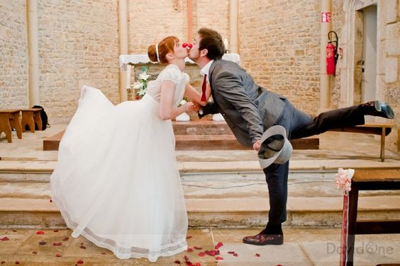 Mariés au nez rouge, mariage thème cirque