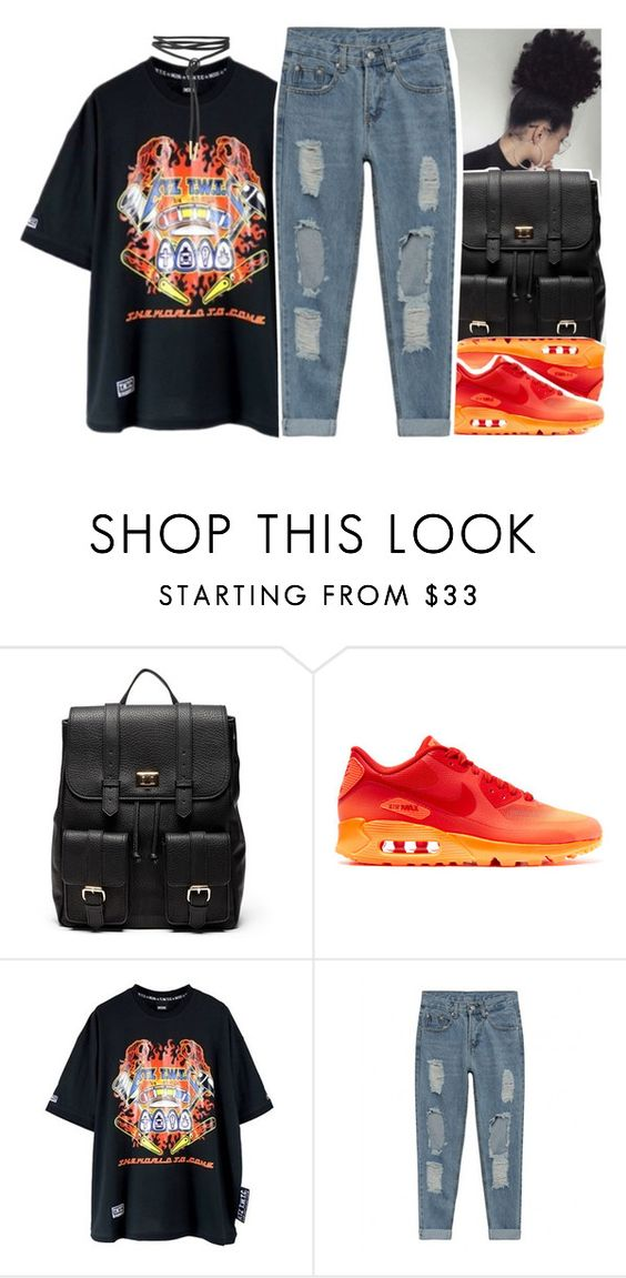 """""""•"""" by abigail-petion ❤ liked on Polyvore featuring Sole Society and NIKE"""