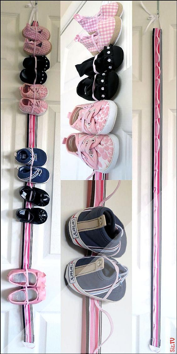 Baby shoe storage