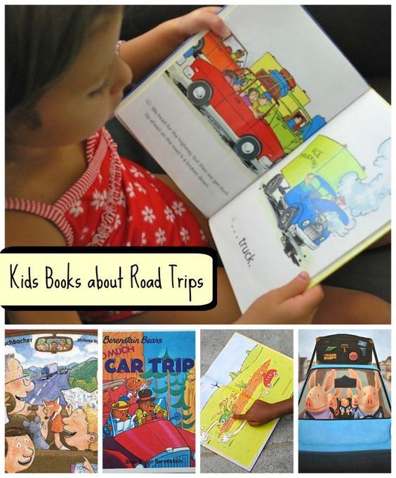 Kids Books about Road Trips- organized by level of readers from picture books to chapter books.