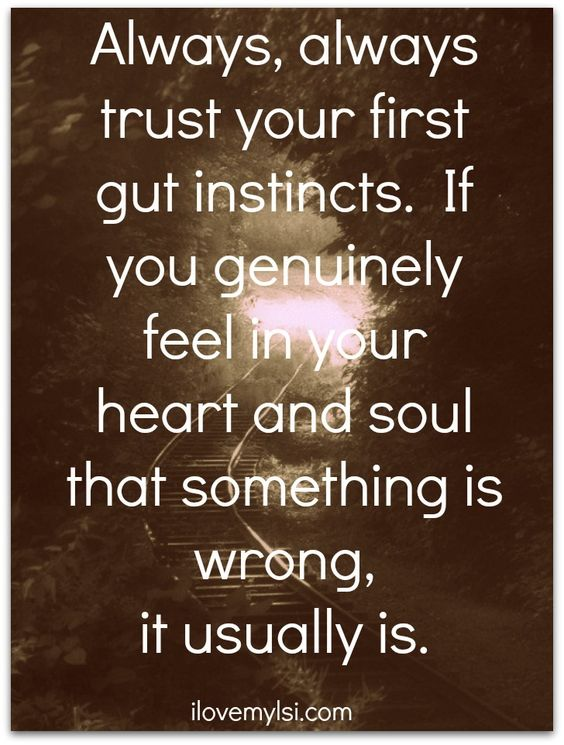 Trust your first instincts. » Love, Sex, Intelligence #inspirational #love #relationship