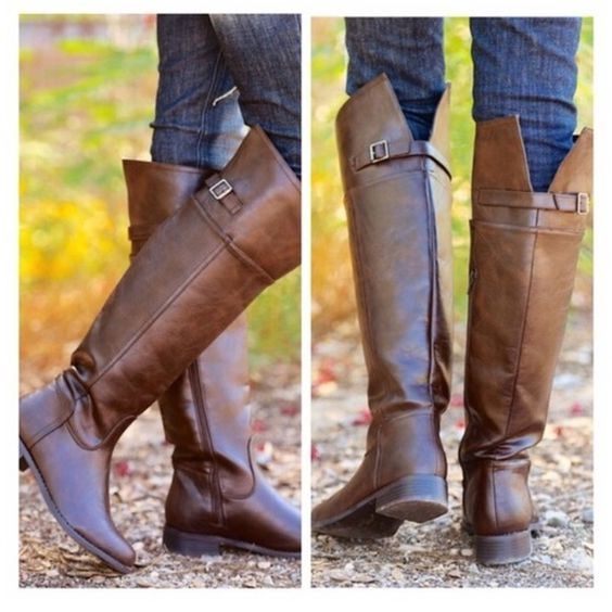 Chocolate Riding Boot • Countryside Chocolate Riding Boots ...