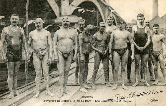 La traversée de Paris à la nage en 1907