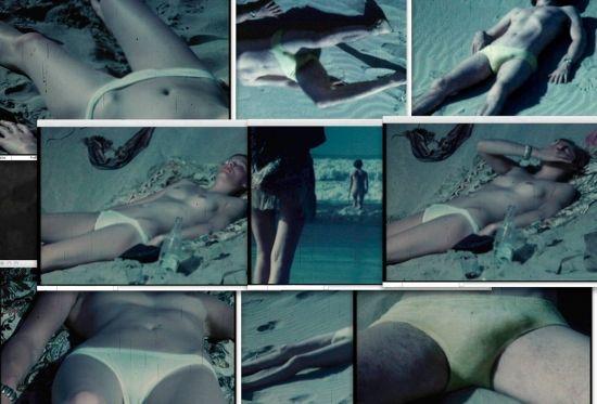Michel Auder. La plage/l'opium, 1967 - 2009