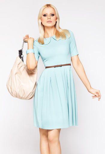 Sukienka la'Aurora miętowa / Mint dress