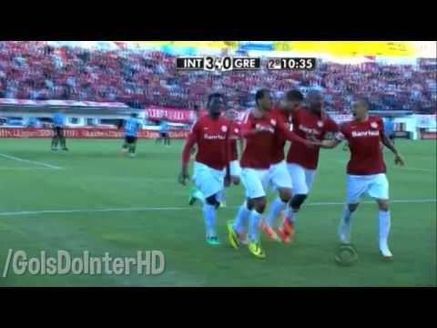 Inter 4 X 1 Gremio Gols Gauchao 2014 13 04 2014 Youtube Rede Globo
