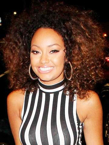Little Fruit Mix! Leigh-Anne Pinnock gets very excited about her juicing machine
