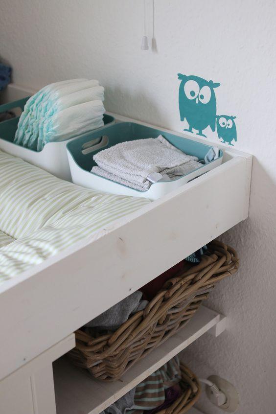 kinderzimmer wickeltisch diy wickelkommode http. Black Bedroom Furniture Sets. Home Design Ideas