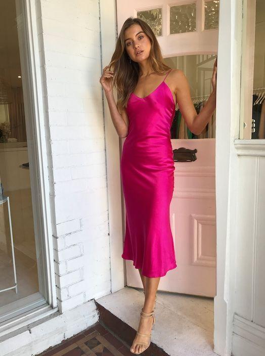38+ Pink slip dress ideas