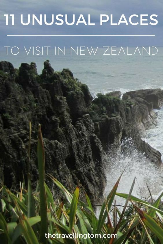 New Zealand is an amazing destination with many things to do!  However, there are also a number of unusual places to visit in New Zealand as well!  From the Moearaki boulders to the stinky town of Rotorua, travelling to New Zealand, has its fair share of surprises!