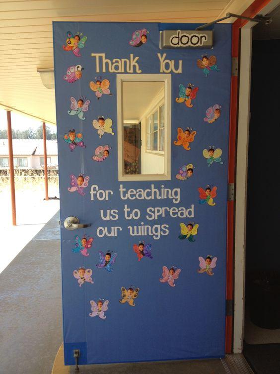 Butterfly Classroom Decorations : Best ideas about cartridge cherry preschool decoration
