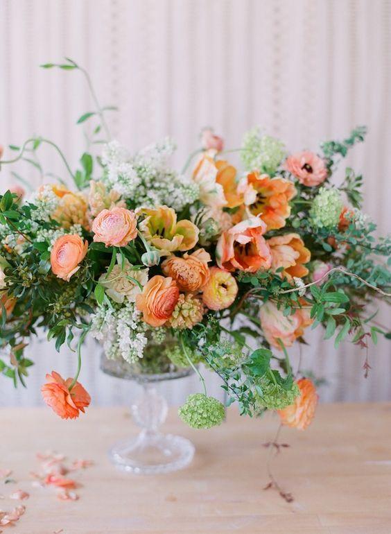 Inspiration shoot - Belmont gown - Ariella Chezar florals shot by Corbin Gurkin: Floral Design, Flowers Arrangements, Chezar Florals, Flower Arrangements, Wedding Flowers, Floral Arrangements, Flowers Orange, Florals She S, Florals Shot