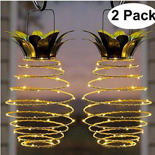 Lampe Solaire Ananas Jardin Lumieres Impermeable A L Eau Decoration Veilleuse Pour Chemin D A Lampe Solaire Jardin Lanterne Solaire Eclairage Solaire Exterieur