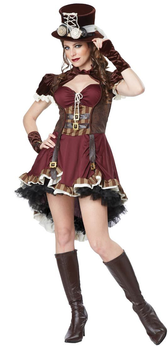 Steampunk Girl Sexy Costume - Sexy Costumes