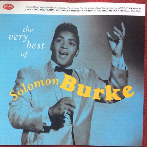 Solomon Burke: The very best of. CD (Rhino 1998)