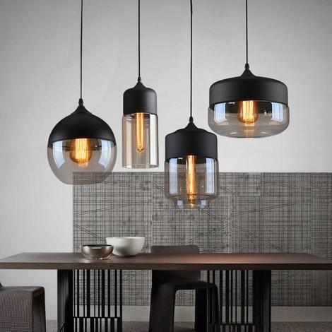 Modern Nordic Glass Pendant Light