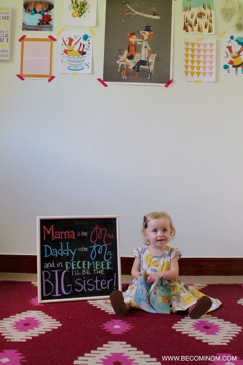 17 Best images about Announcement Older – Big Brother Birth Announcement Ideas