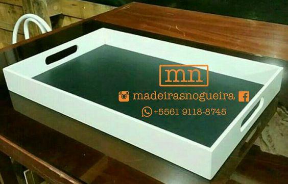 Bandeja em MDF.  Totalmente artesanal.  Pintura em esmalte sintético.  Uma ótima opção para presentear ou para enfeitar sua casa.  Medidas: 50 ×  30 × 5cm (C×LxA)  Encomendas: madeirasnogueira@gmail.com ou (61) 9118-8745 (Whatsapp)  #cherici  #cafe #presente #artesanal #artesanato #handmade #feitoamao #coffee #coffeetime #nestle #nestledolcegusto #madeinbsb